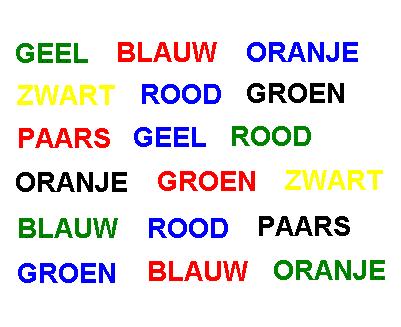 Kleurentest