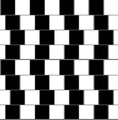 Rechte lijnen of schuine lijnen?